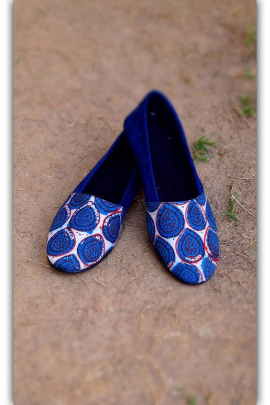 Indigo Blue Shoes
