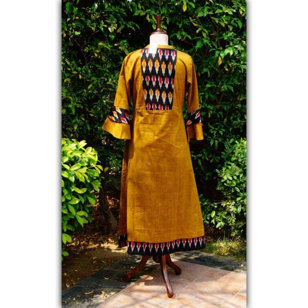South Cotton Ikat Kurta