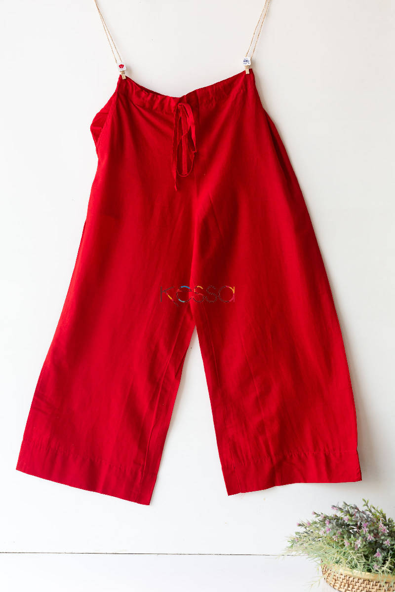 Wsp02 Palazzo With Pocket Red