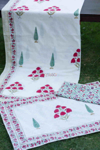 Kessa Kpb37 French Rose Double Bed Sheet Featured
