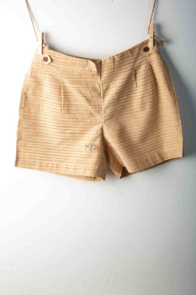 Kessa Wss05 Gold Sand Printed Shorts Featured