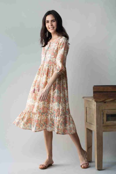 kessa avdaf52 chulbuli tiered dress with quirky prints side